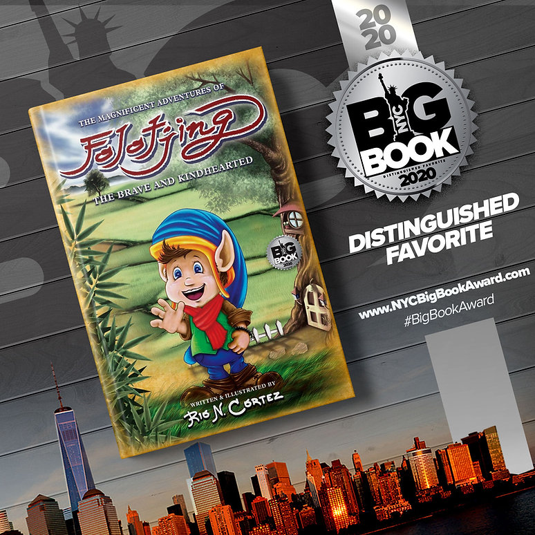 NYC Big Book Awards - Folotjing as Distinguished Favorite