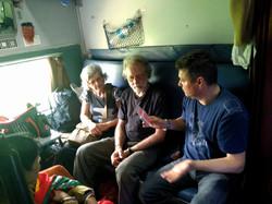 Un train en Inde