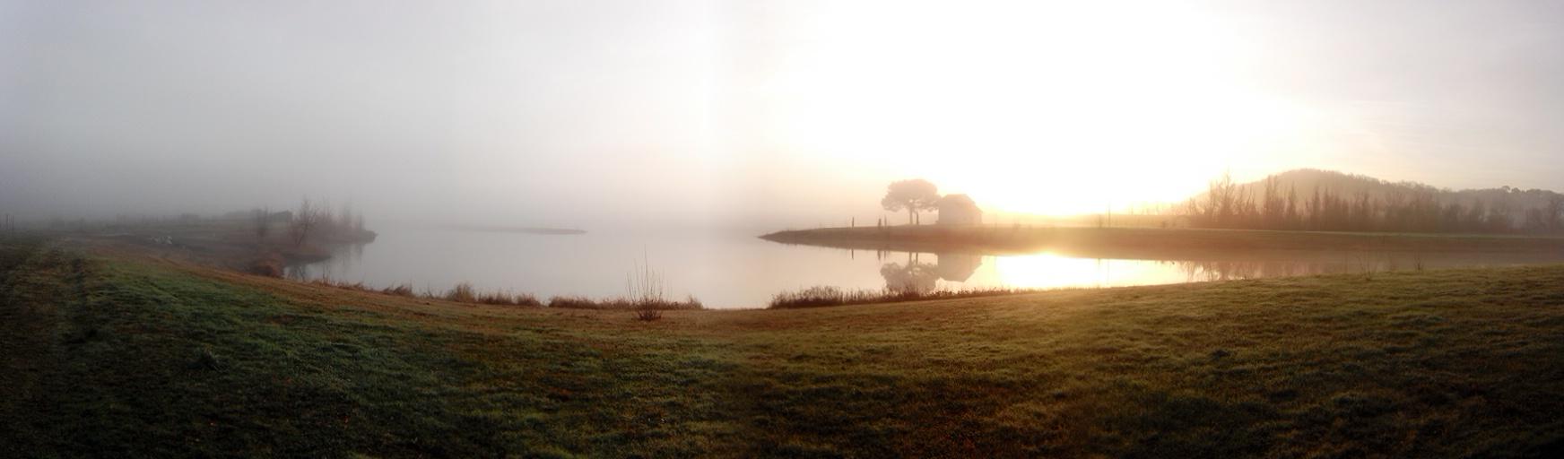 Lac de la maison de la pêche