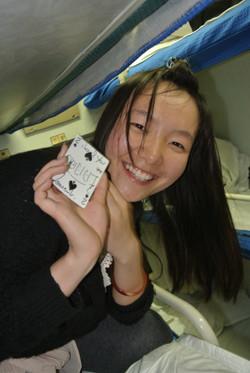 un sourire en Chine