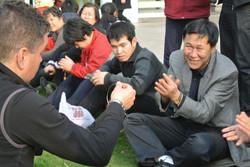 des sourires en Chine