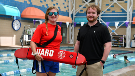 Swimming For Good: HAC Lifeguards Volunteer To Train Staff At Terry Children's Center