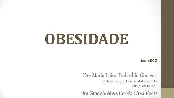 Obesidade - Prof. Graciele