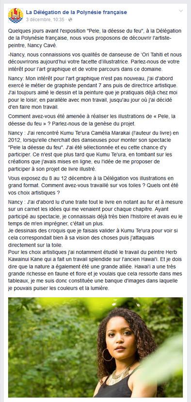 Article Delegation de Polynesie Française