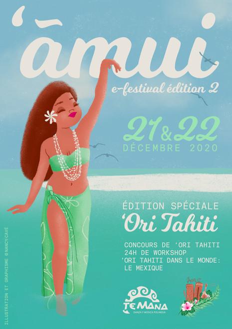 'Amui e-festival ⋅ Illustration