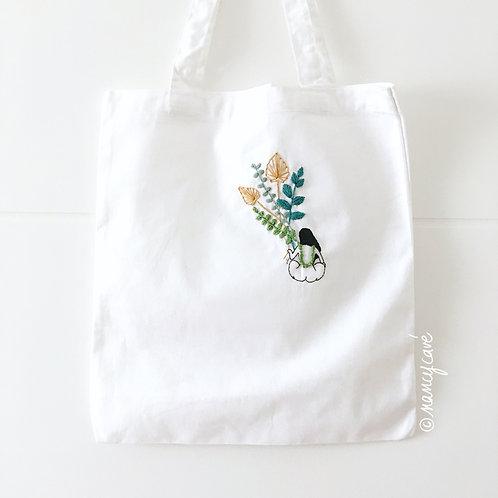 Tote bag - Collier végétal