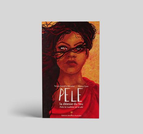 """Livre """"Pele la déesse du feu"""" ⋅ Illustration"""