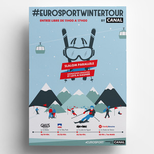 EUROSPORT WINTER TOUR BY CANAL