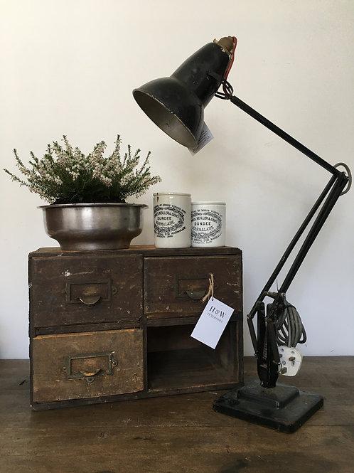 Angle poise lamp