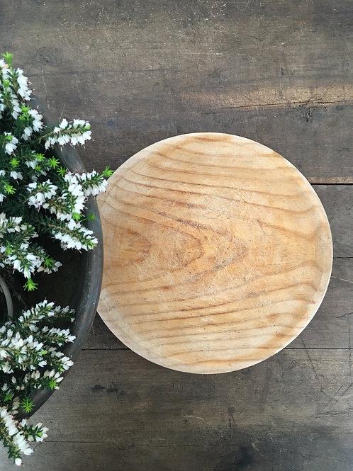 Single wood plate