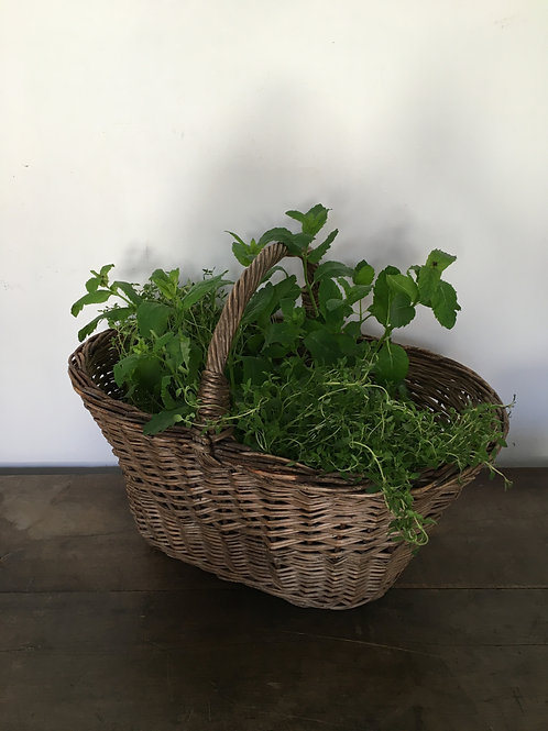 Early 20th century basket