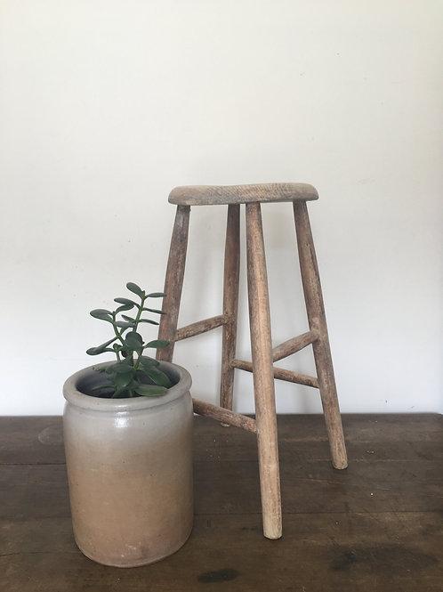 Charming rustic stool