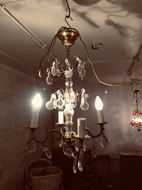 Simple French chandelier