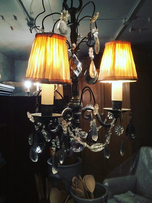 Pretty French antique chandelier