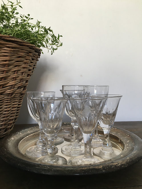 Antique Aperitif Glasses