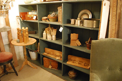 Large open shelving unit