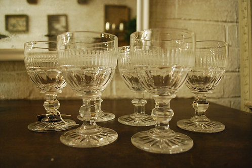 French aperitif glasses