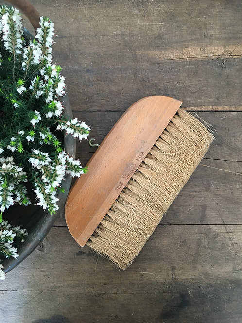 Vintage horse hair brush