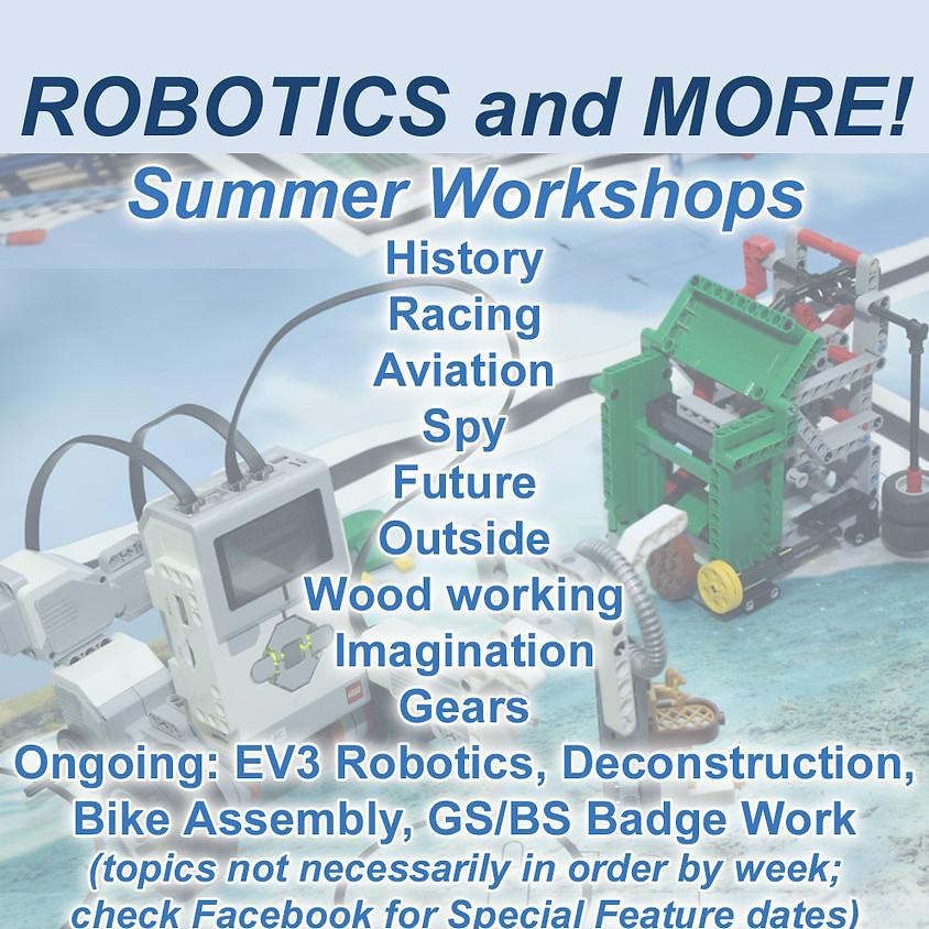 Robotics and More! Summer Workshops