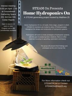 H2O- Home Hydroponics On!