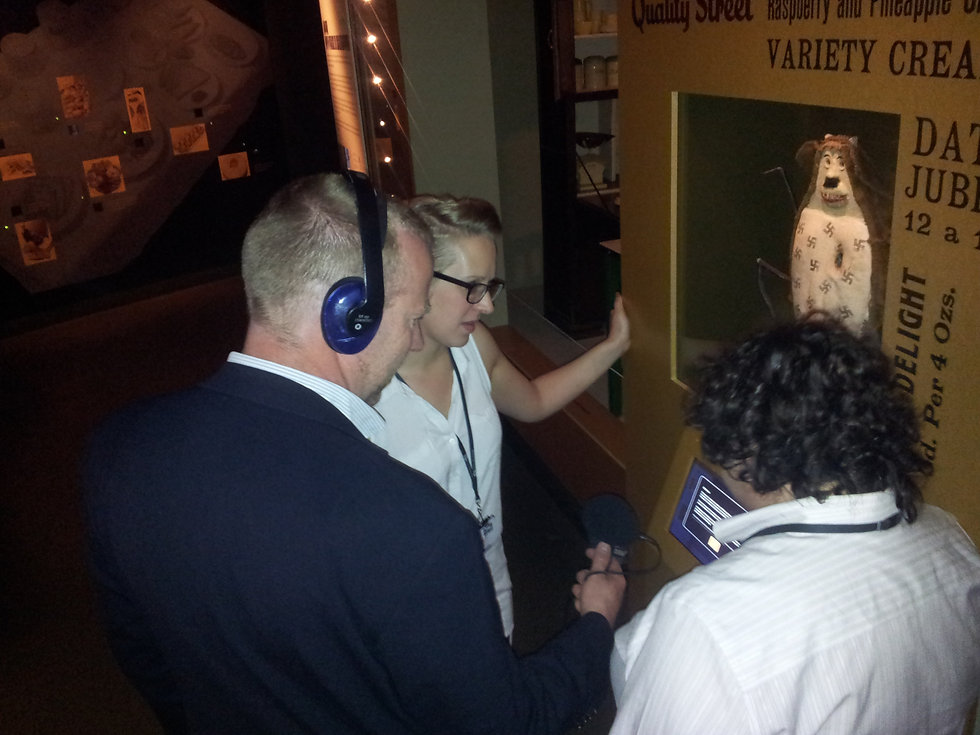 Audio trail recording by Monty Funk at the Imperial War Museum