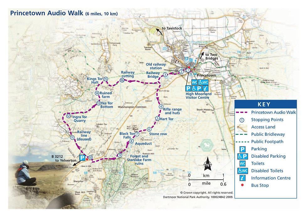 Princetown Audio Trail, Dartmoor