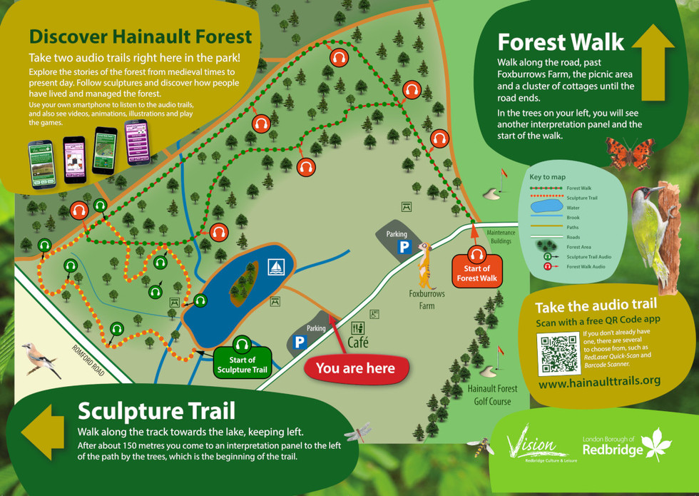 Hainault Forest Country Park - Interpretation Panel
