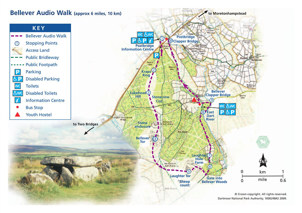 Bellever Audio Trail, Dartmoor