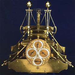 Harrison H1b timepiece for podcasts produced by Monty Funk for Royal Museums Greenwich