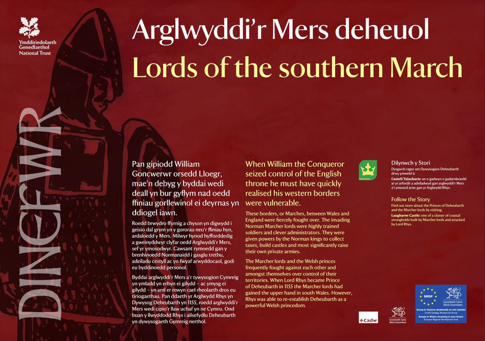 Interpretation Panel: Dinefwr Park - The Lords