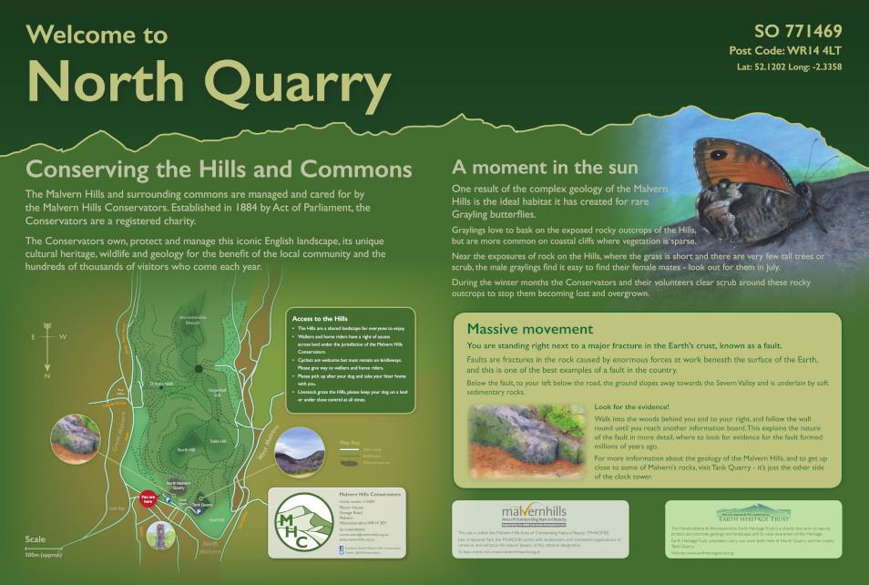 North Quarry Interpretation Panel