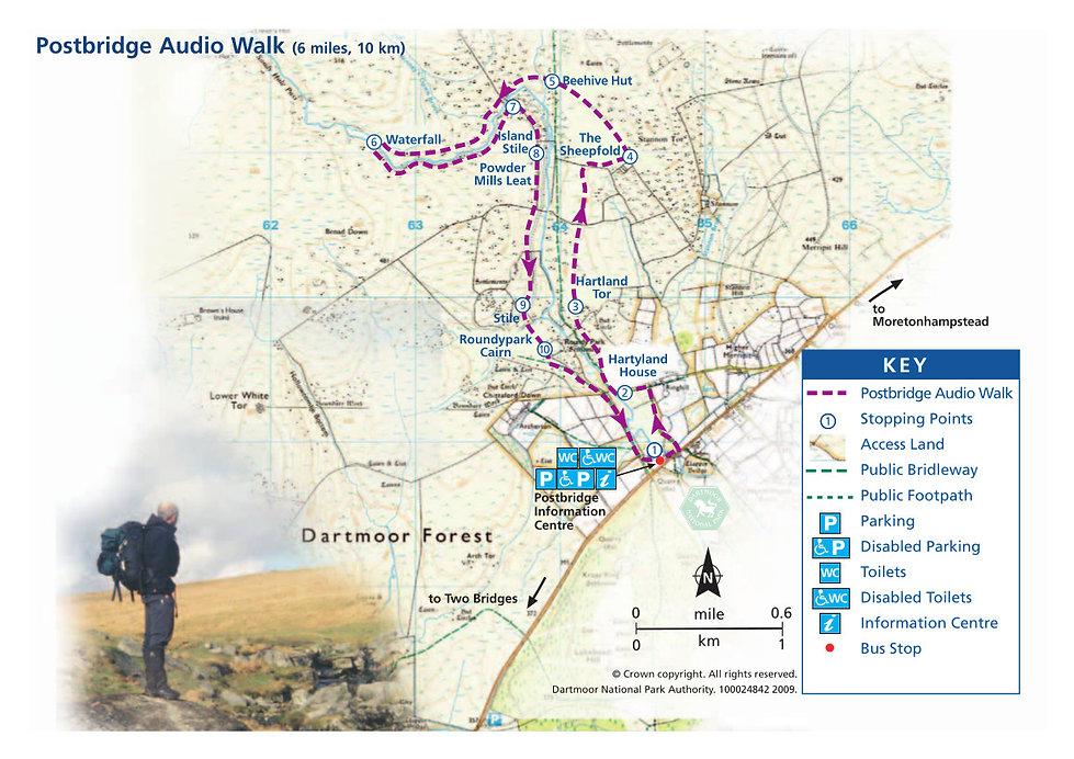 Postbridge Audio Trail, Dartmoor