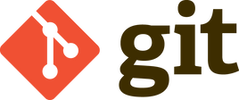 Git logo, the version control system used by Monty Funk for app development