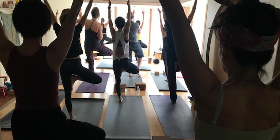 ASIJ Parents Yoga Meet up in Kichijoji