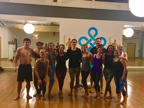 Inversions and Backbends Workshop...Drop the mic!