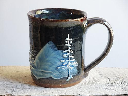 Night Pines Diner Mug