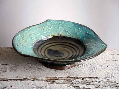 Turquoise TriBowl