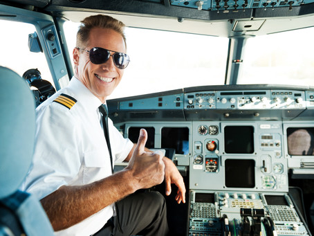 Airline Pilots don't wear jeans