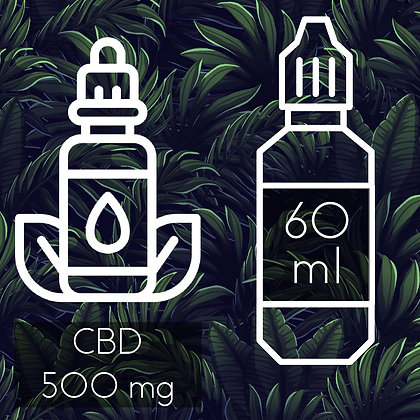 Pack CBD 500mg + Liquide 60ml