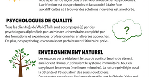 En 5 points, Walk2Talk c'est...