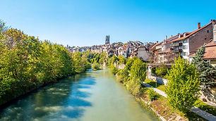 Fribourg au printemps