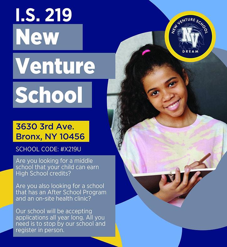 School Registration Flyer
