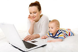 mother and baby with computer.jpg