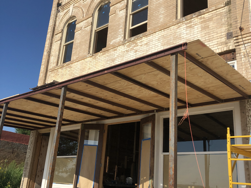Stockmen's Building update - End of Phase I