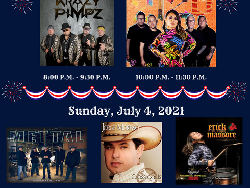 4th of July In Cotulla, Tx. Full Lineup and more...