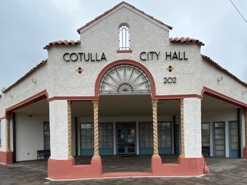 Texas Historic Commission Cotulla City Hall Completion Report Cotulla, Texas