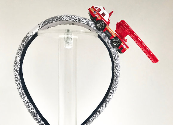 NYC Fire engine Headband