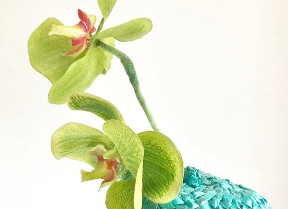 Orchid Ocean Fascinator