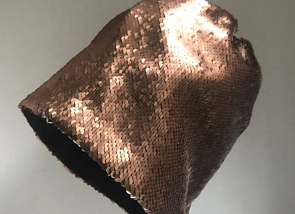 Copper Slouchy Hat