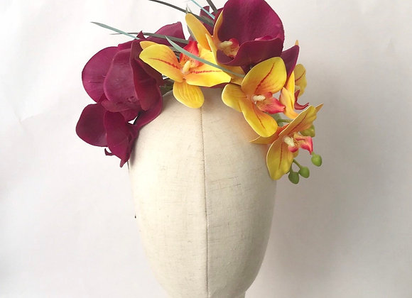 Orchid headband, Waikiki Aloha